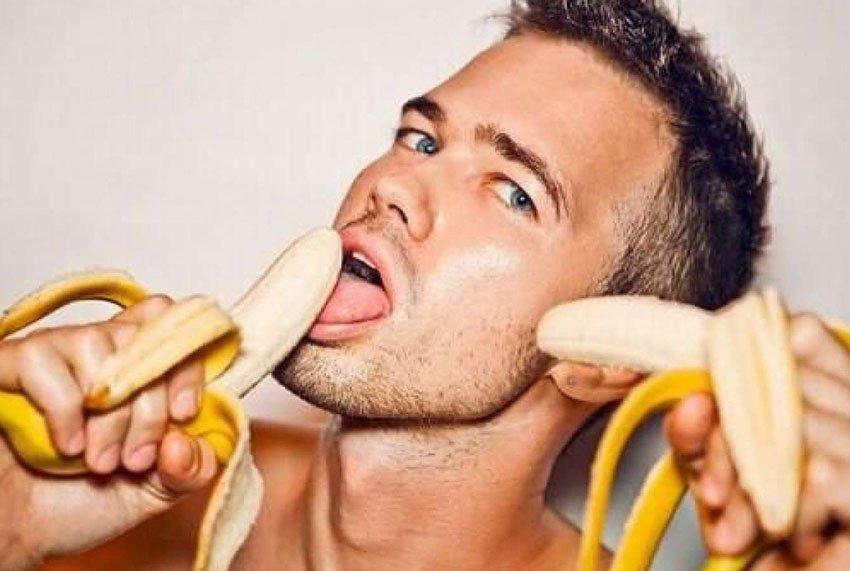 все время девушки любящие мужские бананы того, стоит