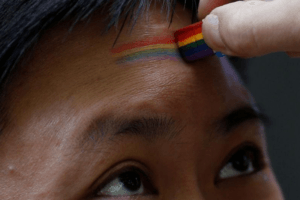 PRIDE LGBT celebration in Shanghai, China June 17, 2017. REUTERS/Aly Song