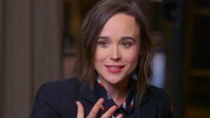 """Έλεν Πέιτζ (Ellen Page): """"Δε θα ρωτούσαν ποτέ μια ετεροφυλόφιλη ηθοποιό αν θα υποδυόταν έναν στρέιτ γυναικείο ρόλο."""""""