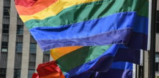 Τα χρώματα της σημαίας του Pride μπορεί να είναι αναγνωρίσιμα ανά τον κόσμο, όχι όμως στο Σεράγεβο, © GETTY IMAGES NORTH AMERICA/AFP