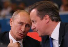 Βλαντιμίν Πούτιν και Ντέιβιντ Κάμερον, 2 Αυγούστου 2012, Ολυμπιακοί Αγώνες, Λονδίνο, Φώτο: Jeff J Mitchell/Getty