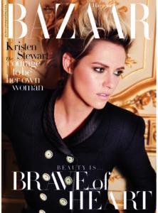 Kristen Stewart, Bazaar cover