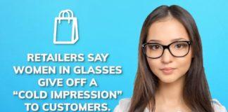 Απαγόρευση σε εργαζόμενες γυναίκες να φορούν γυαλιά μυωπίας