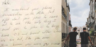 Αυτός ο μπαμπάς γράφει σημείωμα στον γιο του για να τον βοηθήσει στο coming out