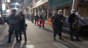 Άγρια καταστολή και σεξιστικές επιθέσεις από τα ΜΑΤ και στην Πάτρα, 6 Δεκέμβρη, από την πορεία αλληλεγγύης, photo: George Kyriakopoulos