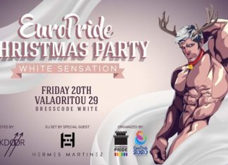 White Sensation - EuroPride Christmas Party Thessaloniki Pride