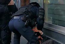 Άγριος ξυλοδαρμός διαδηλωτή θετικό στον ιό του HIV από την αστυνομία της Γαλλίας