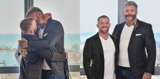 Οι γκέι πορνοστάρ Jack Vidra και Cain Marko παντρεύτηκαν σε καραντίνα