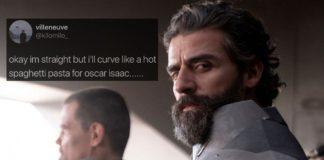 Στρέιτ άνδρες εκφράζουν στο τουίτερ τη λαγνεία τους για τον Oscar Isaac