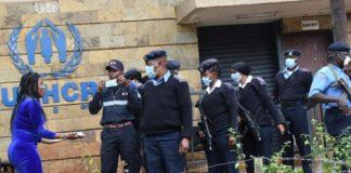 ΛΟΑΤ άτομο αιτόν άσυλο κρεμάστηκε έξω από το γραφείο του ΟΗΕ στην Κένυα