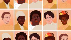 δικαίωμα ψήφου γυναικών, μη λευκές σουφραζέτες