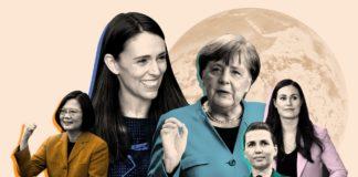 γυναίκες πολιτικοί, Covid-19, πανδημία