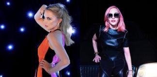 συνεργασία με τη Madonna, Kylie Minogue, Madonna