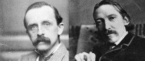 JM Barrie, Robert Louis Stevenson, Peter Pan