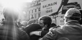 φιλί, αντι-ΛΟΑΤ, Γαλλία