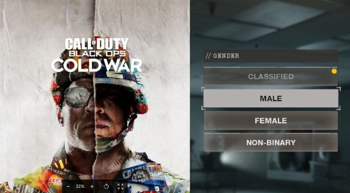 Call of Duty, non-binary