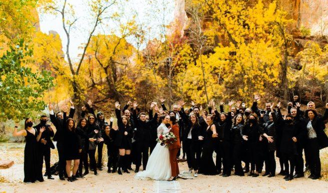 λεσβιακός γάμος, πανδημία