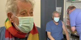Ian McKellen, εμβόλιο, COVID-19