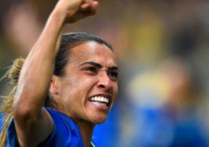 Marta, Βραζιλία, ποδοσφαιρίστρια
