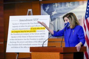 25η τροποποίηση, Nancy Pelosi, Donald Trump