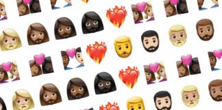emoji, Apple, διαφυλεκτικά, ομόφυλα, ζευγάρια