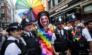 Pride Λονδίνου, αστυνομία