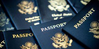 διαβατήρια, ΗΠΑ
