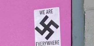 Αλάσκα, σβάστικα, Εβραϊκό Μουσείο, γκέι μπαρ, λευκή υπεροχή, ακροδεξιά