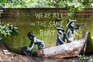 Banksy, A Great British Spraycation