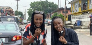νιγηριανό ζευγάρι λεσβιών