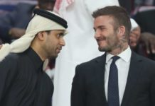David Beckham, Qatar, Nasser al Khelaifi